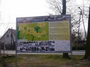 Tablica promocyjna wsi Łagów