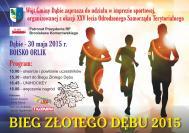 Bieg Złotego Dębu 2015
